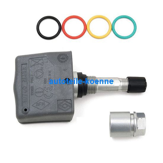 tpms oem sensor mit clamp in ventil gen2 3 sg. Black Bedroom Furniture Sets. Home Design Ideas