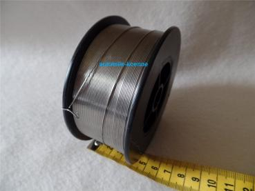 Schutzgas Schweißdraht Edelstahl V4A Ø 0,8 mm 1 kg Spule Dorn 18mm # 1.4576