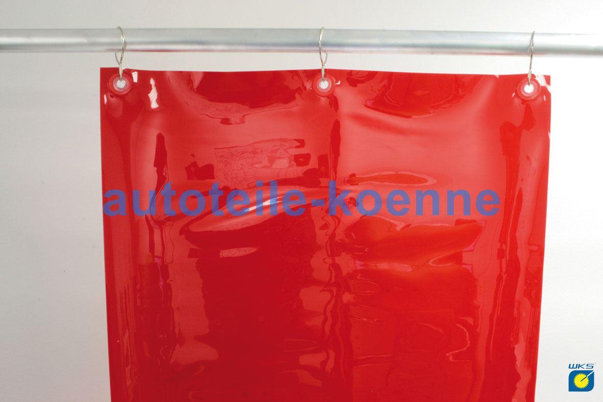 Größe Schweißer PVC-Vorhang Schutzstufe Grün R9 2,00 m lang x 1,40 m breit