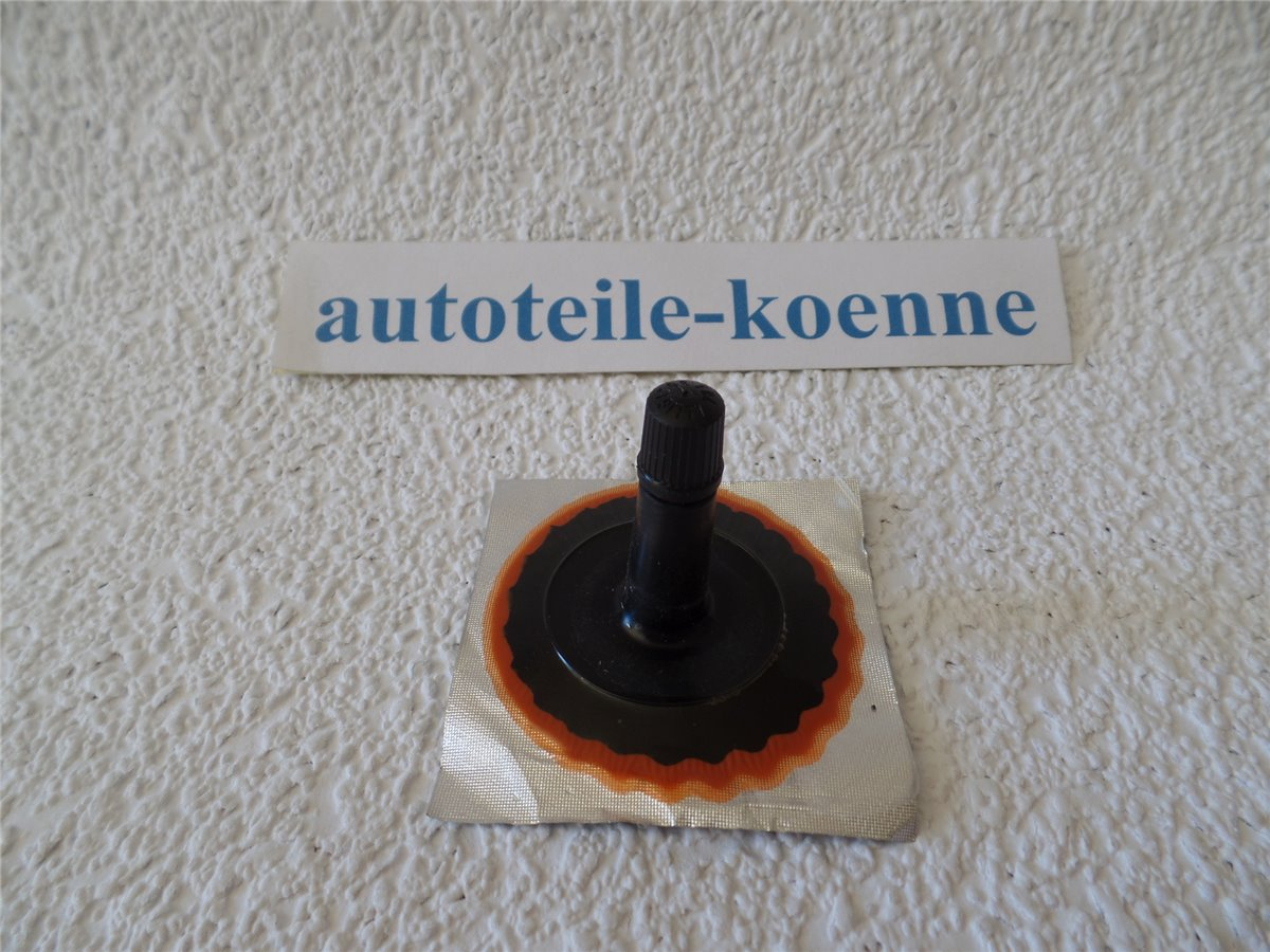 1x Gummiventil PKW TR13 Ø 60mm Gummifuß Ventil TIP TOP Schlauchreparatur